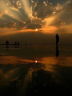 Beautiful Sunset Reflection