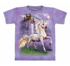 Teenagers Teen Girls Rainbow Unicorn Printed Long Sleeve 100/% Cotton Tops