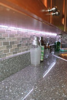 glass in kitchen cabinets cambria minera kitchen countertop by atlanta kitchen in 15873