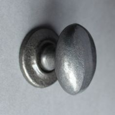 Simple Cast Iron Oval Knob For Only £3.50
