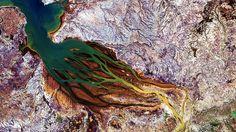 Vista aérea de Madagascar - NASA
