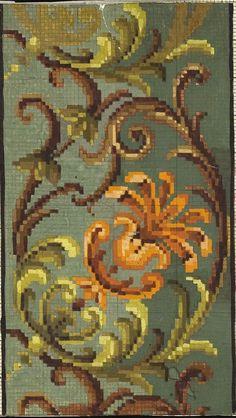 Woolwork pattern border (1)