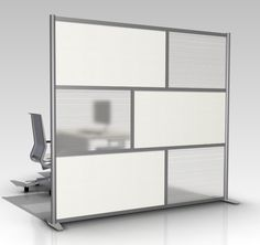 wide x high Room Divider, Office Partition, White & Translucent Frosted Hammered - iDivide Modern Room Dividers & Office Partitions Room Divider Headboard, Metal Room Divider, Room Divider Bookcase, Bamboo Room Divider, Living Room Divider, Room Divider Walls, Divider Cabinet, Office Room Dividers, Fabric Room Dividers
