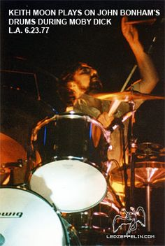 Photo Page - Concert Photos of identified shows Led Zeppelin Live, Ludwig Drums, El Rock And Roll, Keith Moon, John Bonham, Whole Lotta Love, Greatest Rock Bands, Cool Rocks, British Invasion