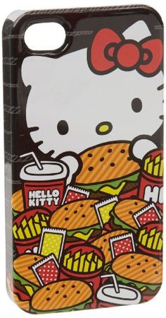 Hello Kitty Burger Iphone case