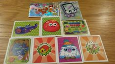 moshi monsters stickers