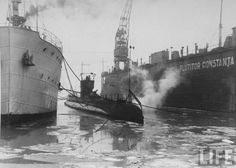 Constanta - Submarinul Delfinul  - 1930