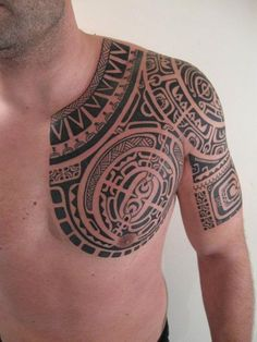 Amazingly Designed Marquesan Tattoo Patterns (31) #samoantattoosmale