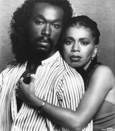 Ashford & Simpson (Nickolas Ashford (R.I.P.) & Valerie Simpson), husband-wife songwriting/production team and recording artists. As a duet, their hits include Solid (As a Rock) and Found a Cure. They were very successful as songwriters, writing for Motown hits Ain't No Mountain High Enough, You're All I Need To Get By, Ain't Nothing Like the Real Thing, and Reach Out and Touch (Somebody's Hand). They also wrote Chaka Khan's I'm Every Woman and Teddy Pendergrass's Is It Still Good to You?