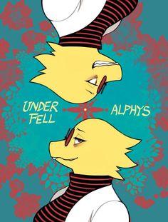 Unferfell Alphys
