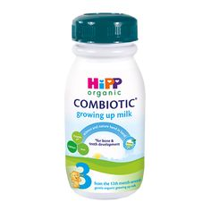 From 12 months onwards 250ml per bottle Does not contain starch Contains Prebiotic fibers (GOS) Contains Omega 3 & 6 LCPs Contains Iron, Vitamins A, D, E and C Made in France HiPP Organic Combiotic UK Stage 3 is a nutritionally complete growing up formula made with the finest organic ingredients. This gentle formula is suitable for toddlers from 12 months till the 2nd year, as part of a mixed diet when transitioning from follow on formula. After the 1st year, babies require special nutrition 👍 Old Recipes, Baby Food Recipes, Hipp Baby, Best Organic Baby Food, Natural Farming, Sustainable Farming, Grow Organic, 1st Year, Omega 3