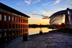 Mustafa İnan Library - ITU by bahadır umaç Itu, Opera House, Sunset, Landscape, Building, Photography, Travel, Voyage, Scenery