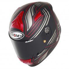 Suomy SR sport Racing matt red
