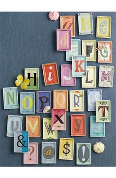 Fun idea for learning ABCs
