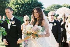 Classic Summer Rancho Valencia Wedding Gallery - Style Me Pretty Mira Zwillinger Charlie dress