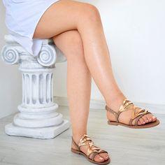 6ad14313035d Items similar to ancient grecian sandal