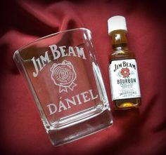 Névnapra #minibazár #whiskey Jim Beam, Bourbon, Beams, Perfume Bottles, Bourbon Whiskey