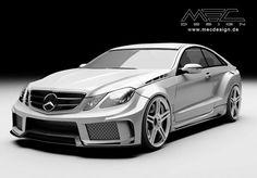 Mercedes-Benz E-Class Coupe (C207) by MEC Design