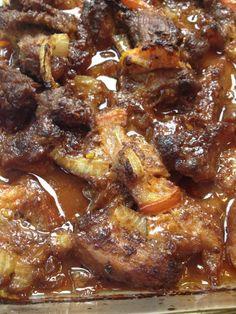 #Filipino Pork Binagoongan baked in shrimp paste & coconut Easy #Sunday dish