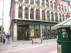Zellers on Sparks st... work there in the toy dept. at Xmas time when I was 16.