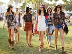 Proof that the most stylish festivalgoers don't leave home without a | All the Coachella Street Style You Have to See | POPSUGAR Fashion