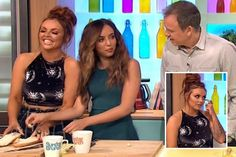 Little Mix's Jesy Nelson appears on Sunday Brunch without engagement ring following a boozy night out - The Sun