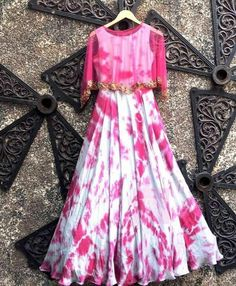 Bollywood Inspired - Ready To Wear Magenta & Grey Gown - Indian Gowns, Indian Outfits, Indian Anarkali, Indian Wear, Designer Gowns, Indian Designer Wear, Designer Kurtis, Grey Gown, Simple Gowns
