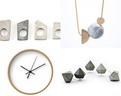 ♥ by Monica on Etsy featuring concrete jewelry - geometric minimalist concrete ring by shooohsJewelry
