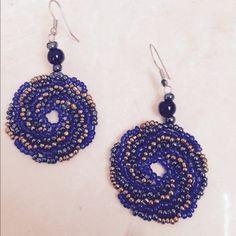Handmade beaded earrings Handmade in Bali, gorgeous handbeaded earrings. Handmade Jewelry Earrings