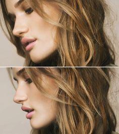 Perfect makeup and hair: #hair #natural: http://elliebenuska.com/category/inspiration