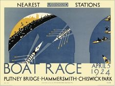 Boat Race by Bernard Leslie Kearley Art Print (04-1405)