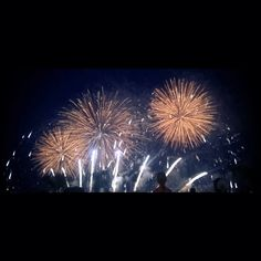 We watched a stunning fireworks on the beach of Cannes. Fireworks were adapted f. Bastille Day, Cannes, Fireworks, Tapestry, Pho, Beach, France, Film, People