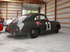 Porsche 356 Outlaw, #13 Mobile Oil