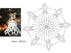Колокольчики на новогоднюю ёлку / Вязание крючком / Вязаные крючком аксессуары