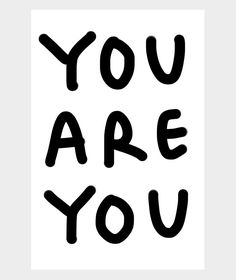 "Shantell Martin: ""You Are You"" Poster"