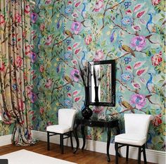Arundel Peacock Wallpaper