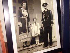 nationalpost: Princess Marie Louise of Bulgaria with her parents Queen Giovanna and King Boris III