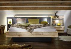 Insua von Wellemöbel - Schlafzimmer Walnuss/ Hochglanz | Wohndesign ...