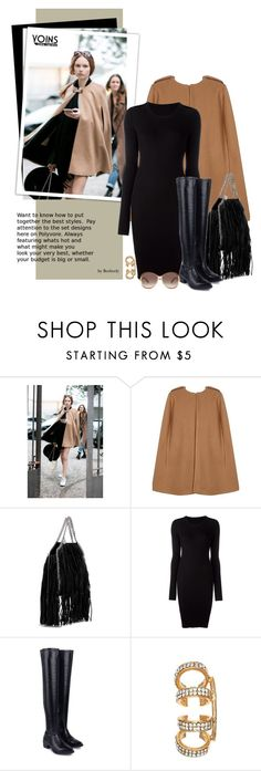 """""""Yoins Winter Street Style"""" by beebeely-look ❤ liked on Polyvore featuring STELLA McCARTNEY, MM6 Maison Margiela, Marc Jacobs, women's clothing, women's fashion, women, female, woman, misses and juniors"""