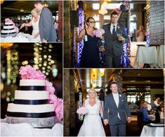 wedding cake and grand march