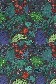 Floridita fabric by Matthew Williamson for Osborne & Little, Cubana