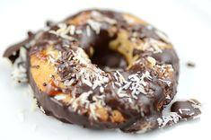 Gluten-free, grain-free, dairy-free Paleo Samoa Girl Scout cookies.