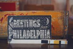 Creative Philadelphia Wedding