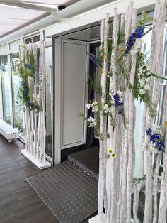 decoration for doorframe, made by DIE STRAUSSBAR, Hamburg