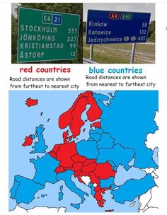 Country Blue, Country Roads, Krakow, Stockholm, Geography, Red And Blue, City, Maps, Red And Teal