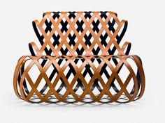 Sillón de relajación en acero ARIA by La Cividina | diseño Antonio Rodriguez