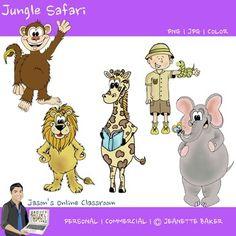 Safari Clip Art free