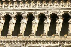 The Basilica of Fourvière, architectural details