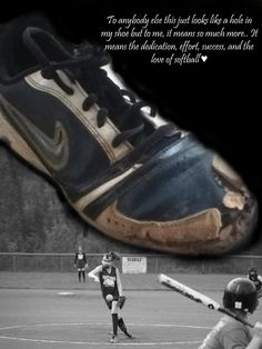 Softball pitchers shoe