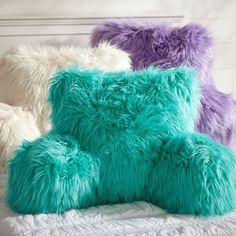 Fur-rific Faux Fur Lounge Around Pillow Cover